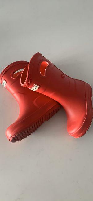 Hunter for target rain boots for Sale in North Miami Beach, FL