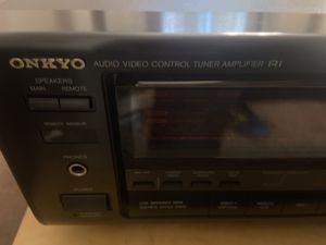 Onyko receiver home stereo amplifier for Sale in Green Bay, WI