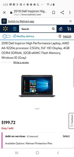 Dell inspiron for Sale in Oakland, CA