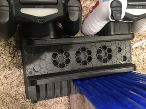 Ps4, two controllers, 8 games , headset , cooling stand to hold everything for Sale in Swansea, MA