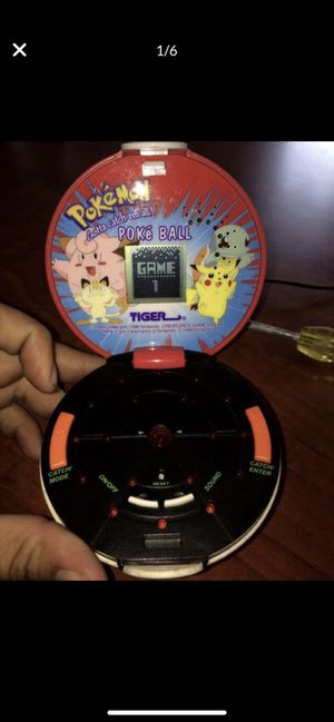 Pokeball Pokemon Mini Game 90's collectible! for Sale in Gresham, OR