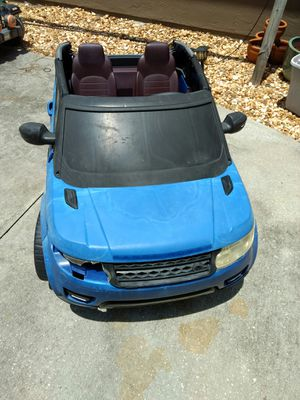Range rover battery powered car for Sale in Palm Bay, FL