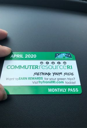 April bus pass 2020. Brand new for Sale in Providence, RI