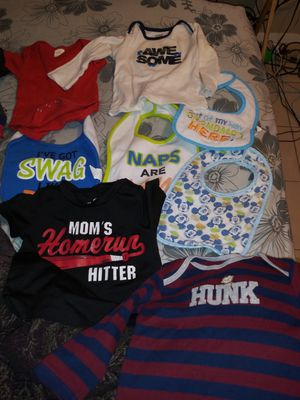 ALL BRAND NEW BABY BOY CLOTHES for Sale in Tampa, FL