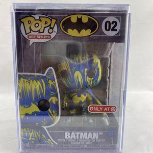 Batman Version 2 - Target Exclusive DC Art Series Blue Yellow Funko Pop! #02 for Sale in Peoria, IL