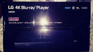 Nuevo LG 4K Blue-ray Player ultra HD 3D. DVD. CD. for Sale in City of Industry, CA