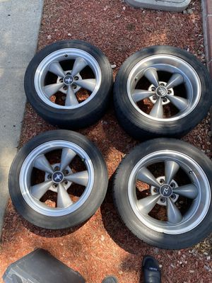 Bullitt style mustang wheels for Sale in El Cajon, CA