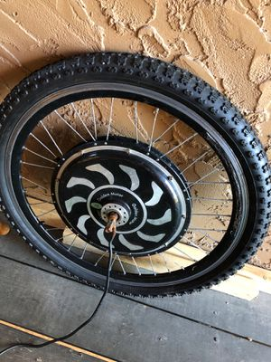 "26"" electric bicycle golden motor/ controller and throttle switch for Sale in Kirkwood, MO"