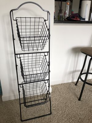 3 tier basket for Sale in Alexandria, VA
