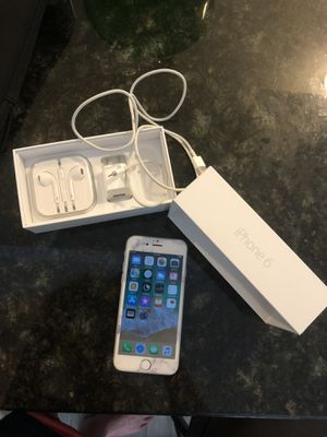 iPhone 6 AT&T 64gb silver unlocked for Sale in Orlando, FL
