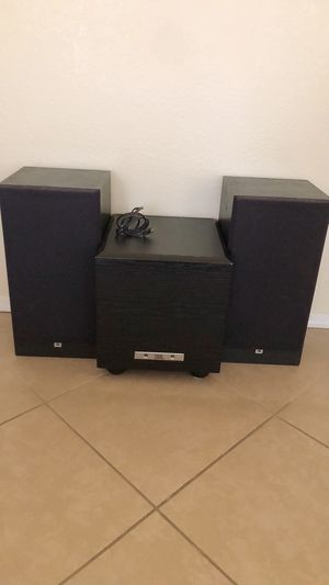 JBL POWER BASS & SPEAKERS G300- NICE for Sale in Mesa, AZ