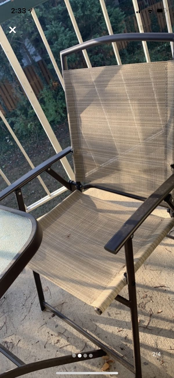 Patio Furniture Set (table and chairs)