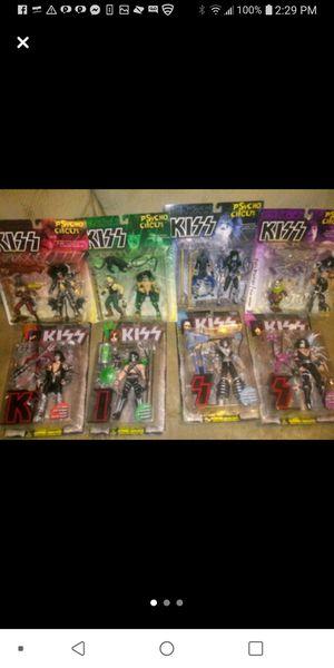 Kiss Action figures 2 sets for Sale in Hazel Park, MI