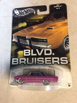 Hot wheels 2003 Blvd Bruisers 64 impala for Sale in Campbell, CA