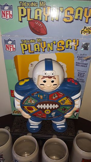 Football Play and Say for Sale in Tucson, AZ