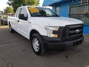 2017 FORD F150 XLT AUTOMATIC .LOW DOWNPAYMENT REQUIRED ON APPROVED CREDIT for Sale in Modesto, CA