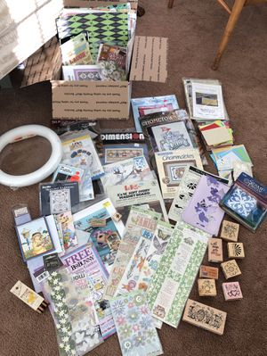 Lot of Scrapbooking Card Making Craft Supplies for Sale in Harrisburg, PA