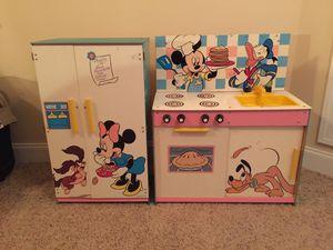 Disney Vintage Mickey Minnie Kitchen Set Kids for Sale in Murfreesboro, TN