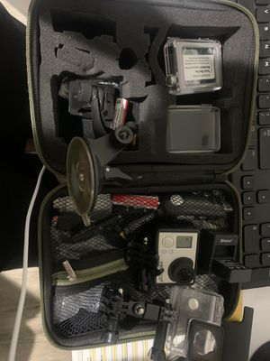 Go pro hero 3+ silver edition +extra $180 for Sale in Sterling, VA