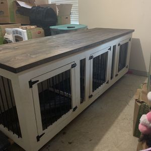 Custom 3 Dog Kennel for Sale in Magnolia, TX