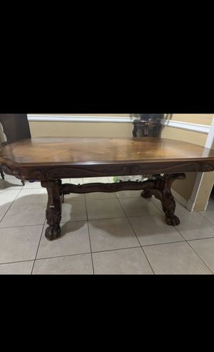 Solid wood table for Sale in Beasley, TX