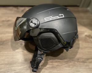 Ski/Snowboard helmet with goggles (Large) for Sale in Ithaca, NY
