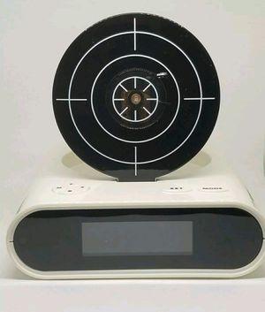Gun and target recordable alarm clock l14 for Sale in Pembroke Pines, FL