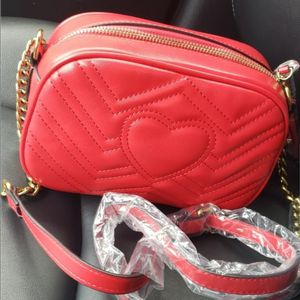Red Leather Crossbody Messenger Shoulder Bag for Sale in San Ramon, CA