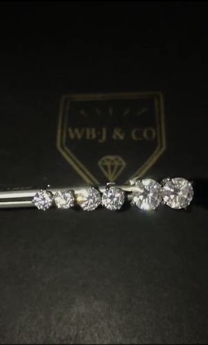 Custom diamond earrings for Sale in Torrance, CA