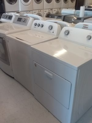 Whirlpool washer and gas dryer new scratch and dents good condition 6 months warranty for Sale in Mount Rainier, MD