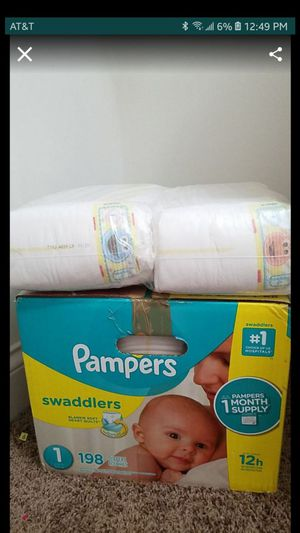 Pampers diapers size 1 for Sale in Lexington, KY