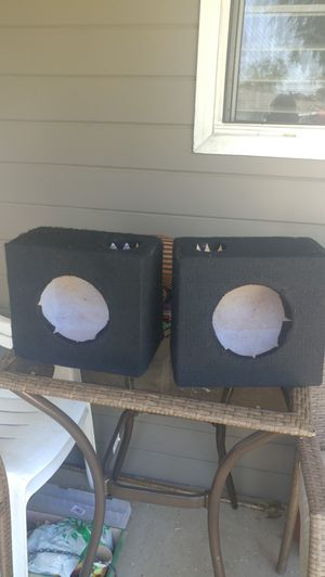 6.5 subwoofer ported boxes for Sale in Fresno, CA