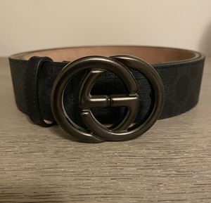 Gucci GG Supreme Canvas Belt Size 34 UNISEX for Sale in Los Angeles, CA