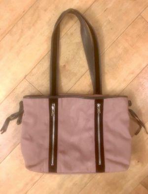 Yves Saint Laurent Pink Lavender Canvas Shoulder Bag New for Sale in Rosenberg, TX