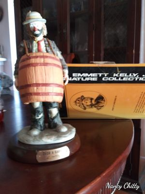Emmet Kelly Jr. Over the Barrell for Sale in Dallas, TX