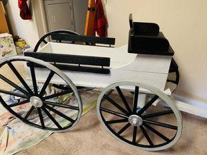 Handmade Amish Buckboard Garden Wagon for Sale in Lewisberry, PA