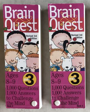 Brain Quest Questions & Answers - ages 8-9. Grade 3 for Sale in Mountlake Terrace, WA