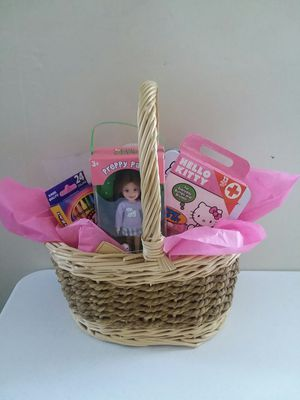 🎀New Birthday gift basket 🎀 girls for Sale in Gilroy, CA