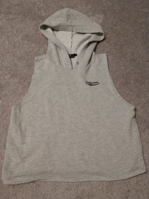 Ladies sleeveless hoodie for Sale in Hudson, IL