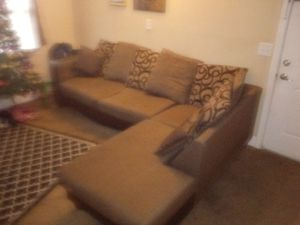 2 Part Sectional Couch for Sale in Nashville, TN