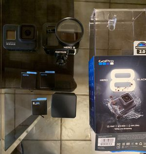 Gopro 8 with accessories and extra batteries for Sale in Miami, FL
