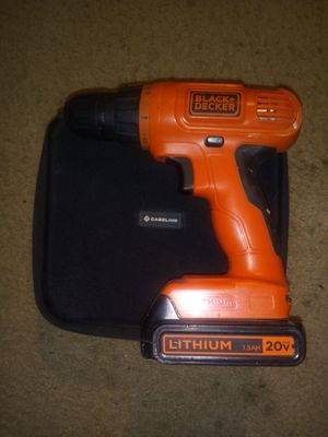 Black & Decker drill only for Sale in Elkridge, MD