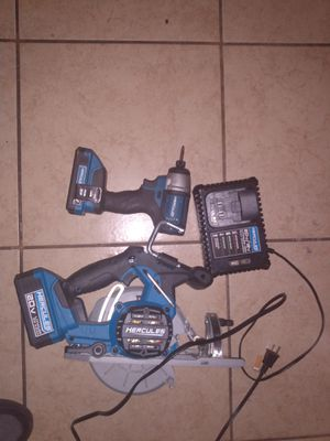 Hercules saw and drill for Sale in Houston, TX