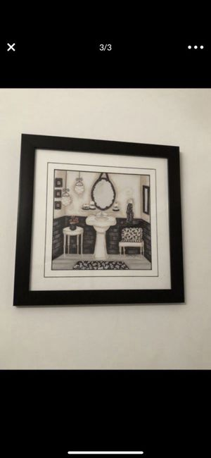 Set of 2 pictures for Sale in Hollywood, FL