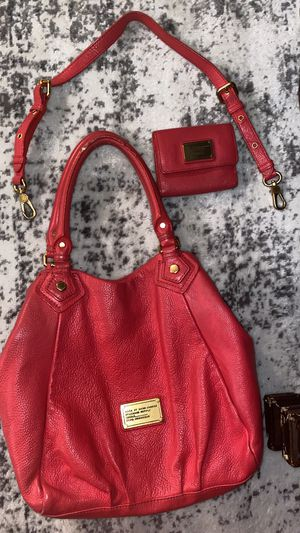 Marc Jacobs Purse & Wallet (Authentic) 3 Piece for Sale in Pomona, CA