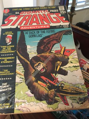 Gigantic Strange Comic-good used condition behind plastic covering for Sale in Atlanta, GA
