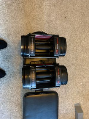 Powerblock 50lb adjustable dumbbells. for Sale in South Rockwood, MI