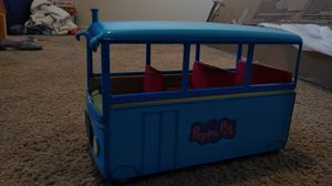 Peppa Pig bus with Blue dress Peppa for Sale in West Richland, WA