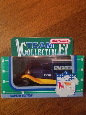 1990 Limited Edition Matchbox Team Collectibles Chargers truck for Sale in Newburgh, IN