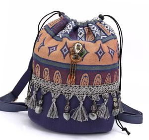 Boho Cotton Bag-pack with canvas for Sale in Nashville, TN